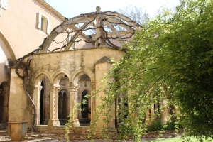 The Abbaye de Valmagne has one of the few octagonal lavabo structures still in existence.