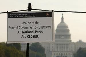 I didn't expect that the government shutdown would affect First Vine, but it has.  (Photo from ibtimes.com)