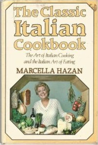 Marcella Hazan's first cookbook, which has had a huge impact on the way Americans make Italian food.