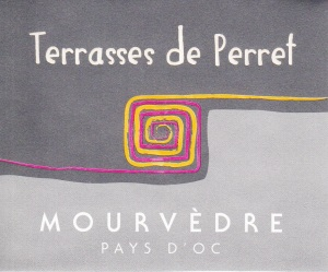 Another new rosé for us, this one is made from 100% Mourvèdre, a grape that's usually used for blending in red wines.