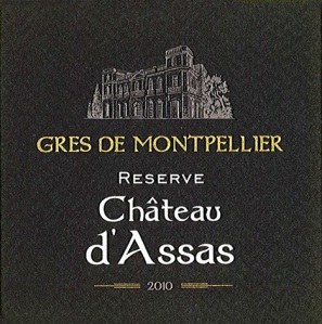 The Réserve  is the more elegant of the two Château d'Assas wines I'm importing thanks to the Mourvèdre and the aging in oak