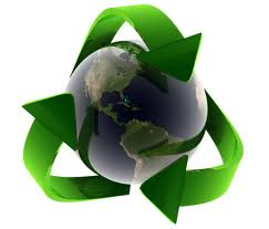 There's no real definition for sustainability, but a lot of people think it's kind of recycling on steroids.  (Photo from calgreeks.com)