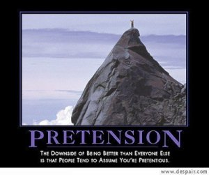 pretentious 2