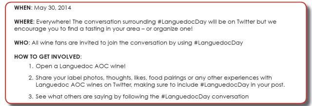 Everything you needed to know about #LanguedocDay on May 30!