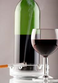The Washington University study found that decreased smoking didn't affect wine drinking per capita, but the rationale isn't necessarily what they think it is.  (Photo from ihatenickell.com)