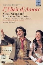 If you're looking for L'Elisir on DVD, this 2005 performance with Anna Netrebko and Rolando Villazon is hard to beat as a total package.  But if you just want to listen, there are better audio-only recordings.