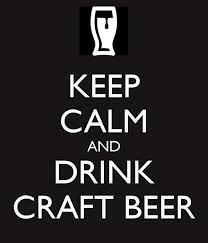 No problem with craft beer drinkers being calm.  But craft beer is making the wine industry nervous.