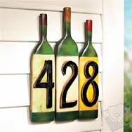 Of all the wine bottle crafts I've seen, this is my favorite.