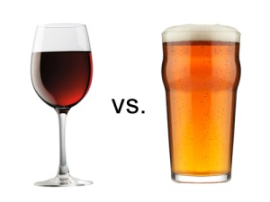 I hear reports that restaurants are paring down their wine lists in favor of craft beers.  Particularly for cuisines that come from regions that don't traditionally produce wine.
