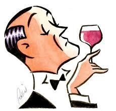 If I owned a tux I might look something like this.  But I don't consider myself a snob -- at least not about wine, anyway.  (Image from cawineclub.com)