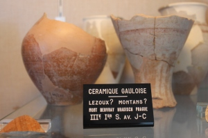 Montans, a village near Gaillac, was an ancient center of pottery production. This included wine amphorae, which have been found all over Europe.