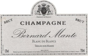 Bernard Mante's new Blanc de Blancs champagne is made from 100% Chardonnay. According to a recent study, it won't give you the health benefits found in champagne containing red wine grapes. But why are you looking for a health beverage at the holidays anyway?