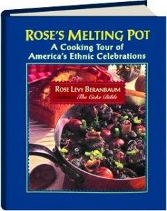 While Rose is known for her baking books, she also has two cookbooks that aren't just desserts. Rose's Melting Pot is the book that contains the recipe posted below.