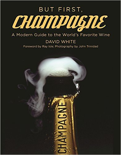 My blogger friend David White wrote a really fun book about champagne. I don't normally enjoy reading wine books in my spare time, but this one was great.